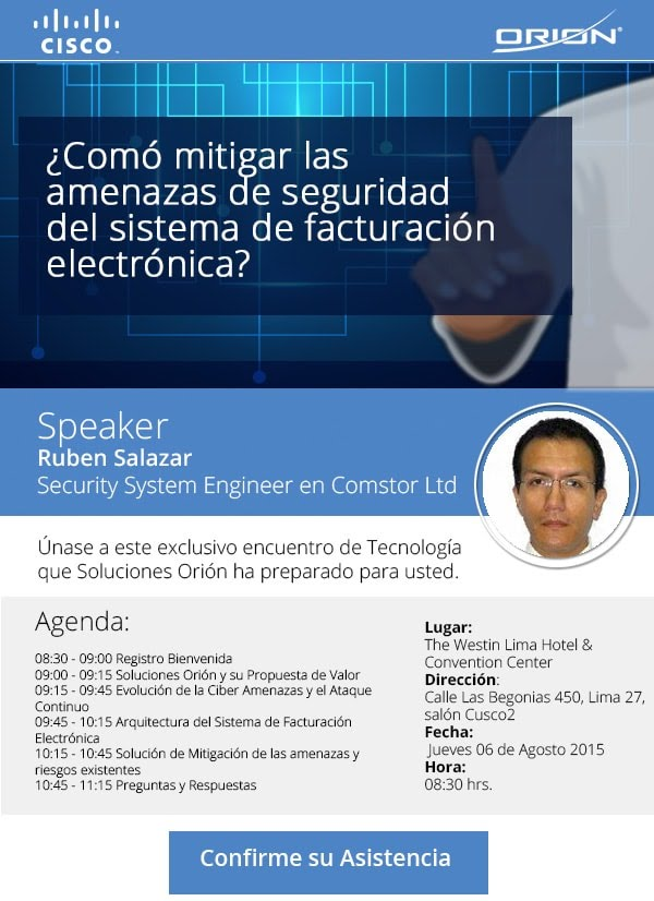 Evento Cisco Perú